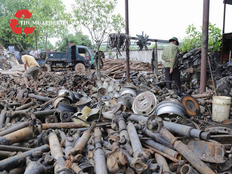 Thu mua phế liệu đồng, inox, nhôm, sắt thép tại An Giang